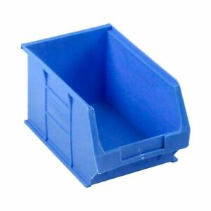 10 X Bss Storage Bins Tc3 Blue Medium Workshop Sb22bu