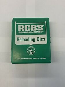 Vintage RCBS Reloading 3 Die Set .38 Special Near Perfect Condition $49.99