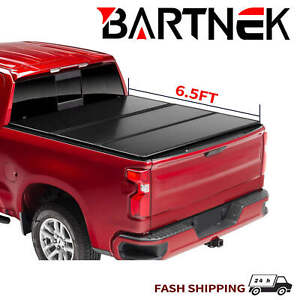 Hard Tri fold Truck Bed 6 5ft Tonneau Cover For 2015 2021 Ford F150 Supercrew