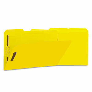 Deluxe Reinforced Top Tab Folders With Two Fasteners 1 3 cut Tabs Legal