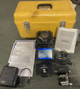 Fujikura Fsm 50r Arc Fusion Splicer total Arc Count 2390 Unit Serviced