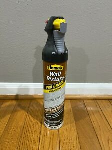 Homax 4565 Pro Grade Water Based 25oz Spray Wall Texture Knockdown New