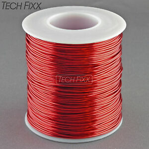 Magnet Wire 20 Gauge Awg Enameled Copper 315 Feet Coil Winding 155 c Red