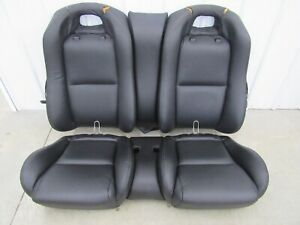 2004 2006 Pontiac Gto Ls1 Ls2 Leather Seats Set Front Rear Oem Black U53