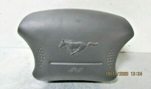 1999 2002 Ford Mustang Gt Air Bag Left Driver Wheel gray With Warranty Oem