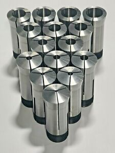 15 Piece 5c Collet Set 1 8 Thru 1 0 Z013