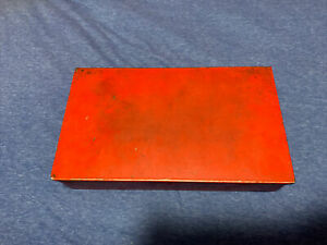 Snap on Tools Empty Metal Vintage Tool Box Kra40 Made In Usa