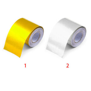 Exhaust Pipe Aluminum Foil High Temperature Wrap Tape Reflective Heat Shield
