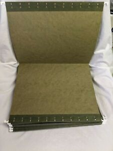 50 X Green Hanging File Folder Letter Size 8 5 X 11 used