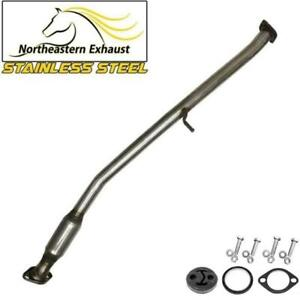 Resonator With Hanger Bolts Compatible With 99 02 Forester 99 01 Impreza
