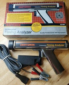 Craftsman Professional Timing Analyzer Inductive Timing Light 161 219400 92194