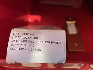NEW 10 AMP Lee All Purpose Indoor Electric Door Closet Light Switch 120V 10A NOS $14.00