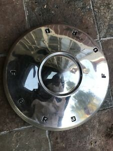 Vintage 1961 1962 Ford Dog Dish 10 1 2 Hubcaps Fairlane Galaxie Poverty Caps