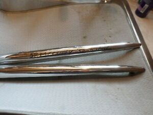 1958 Mercury Park Lane Others Rear Die Cast Moldings Left And Right