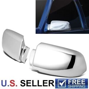 For 88 89 90 91 92 93 94 95 96 97 98 99 Chevy Tahoe Full Chrome Mirror Covers