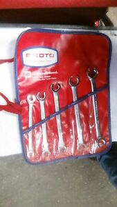 5 Proto Professional Flare Nut Combination Wrench Metric Set 3715 3715 Tools Us