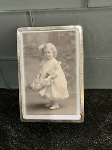 Antique Tiffany Co Sterling Picture Frame C 1880 S Photo Cabinet Card