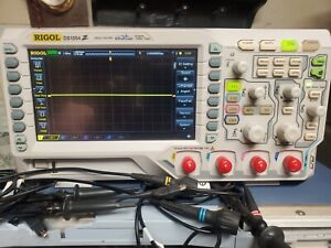Rigol Ds1054z 4 channel Digital Oscilloscope All Options 100mhz Upgrade Ds1104z