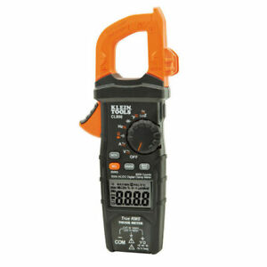 Klein Tools Cl800 Digital Clamp Meter Ac dc Auto ranging 600 Amp 1000 Volt