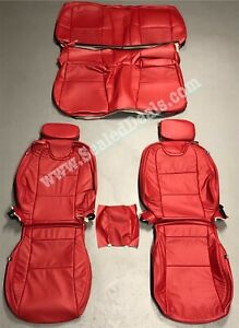 2010 2015 Chevy Chevrolet Camaro Coupe Katzkin Leather Seat Replacement Covers