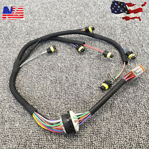 2225917 222 5917 Fuel Injector Wiring Harness Assembly For C7 Engine Excavator