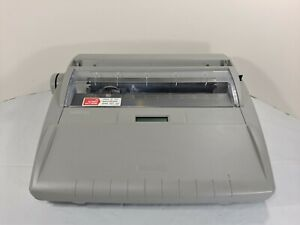 Brother Sx 4000 Portable Electronic Correcting Typewriter W Cover Lcd Display