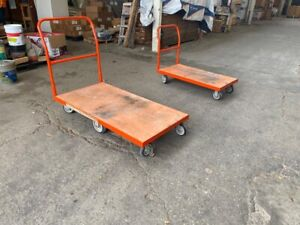 Platform And Panel Carts home Depot good Condition Local Pickup Or Freight
