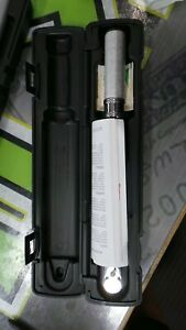 Snap on 3 8 Drive Qd2fr75 flex Torque Wrench W box And Paper