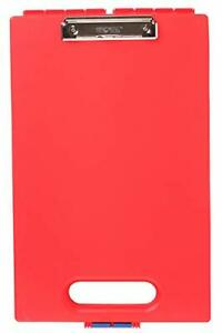 Clipcase Storage Clipboard With Handle Red