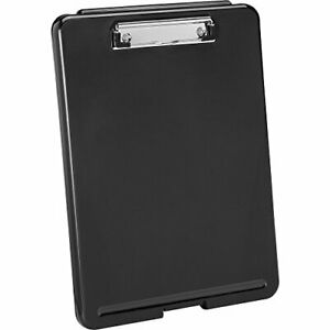 Plastic Storage Clipboard Black letter Size