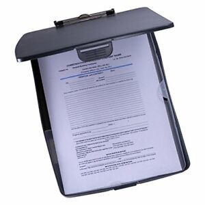 Super Storage Supply Clipboard Case Black Clipboard 83393