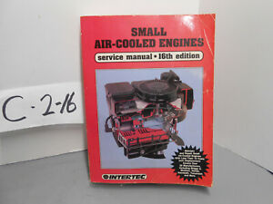 Intertec Small Air Cooled Engine Lawn garden Service Manual Ses 16