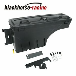 Truck Bed Storage Box Toolbox For Toyota Tacoma 2005 2020 Rear Driver Left Side