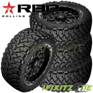 4 New Rbp Repulsor M t 33x12 50r18lt 118q 10 ply Off road Jeep truck Mud Tires