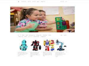 Electronic Toys Drop Shipping Ecommerce Affiliate Mobile Responsive Website