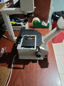 Nikon Tms Inverted Microscope W Cfwn 10x 20 Eyepieces 3 Objectives
