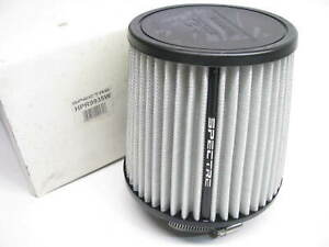 Spectre Hpr9935w Cai Cold Air Intake White Air Filter 7 125 Tall 3 5 Inlet