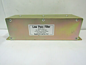 Bencher Ya 1 Low Pass Filter 52 Ohm 1 8 30 Mhz 5 Kw Peak Power Uhf Female So 239