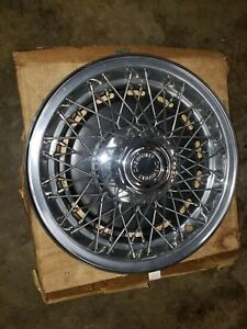 1980 Nos Chevy Caprice Wire Wheel Cover