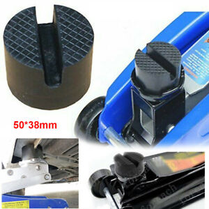 2t Car Universal Slotted Frame Rail Floor Jack Guard Adapter Lift Rubber Pad Usa