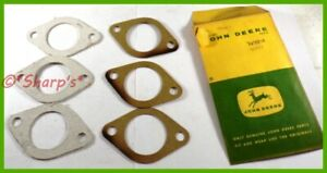 D1034r 321r John Deere A B D G H Gp Carburetor Mounting Gasket Kit set Of 3 Nos