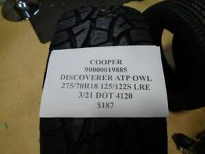 1 New Cooper Discoverer Atp Owl 275 70 18 125 122s Lre Tire 90000019885 Q1