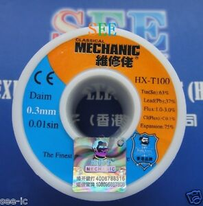0 3mm Solder Wire Mcnsnpb6337 2n5 sp The Finest Quality Solder Sn 63 Pb 37