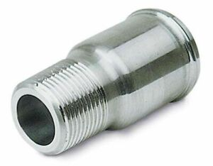 Moroso For Electric Water Pump Motor Fitting 1 Inch Npt To 1 3 4 Inch Hose 63543