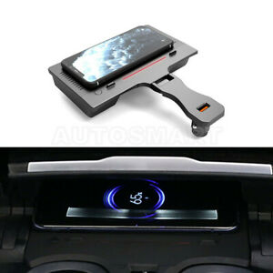 Wireless Car Charger Phone Charger Center Console For Bmw 3 Series G20 2018 2021