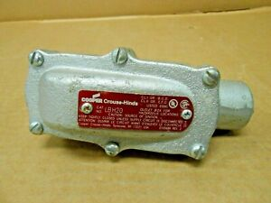 1 New Crouse Hinds Lbh20 Explosion Proof Conduit Pulling Elbow 3 4 Elbd75