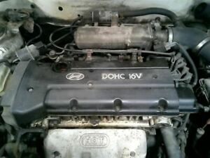 Engine 2 0l Vin F 8th Digit Fits 99 01 Tiburon 180225