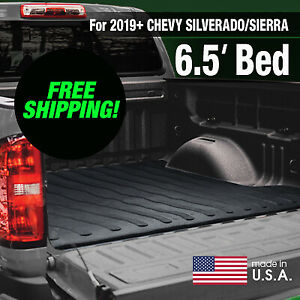 Boomerang Rubber Bed Mat For 2019 Chevy Silverado Gmc Sierra 6 5 Ft Bed