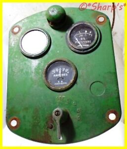 A4826r John Deere 50 60 70 Dash With Gauges Dash Light Switch Aa5071r Af2749r