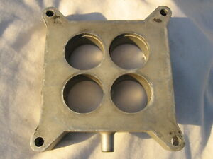 1965 1969 4v 289 302 351w Engine Mustang Cougar Torino Carburetor Spacer Plate